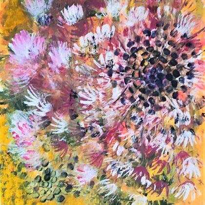 A GLIMPSE OF SUMMER - Acryl on canvas - 60x70