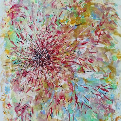 MIKADO - Acryl on canvas - 80x100