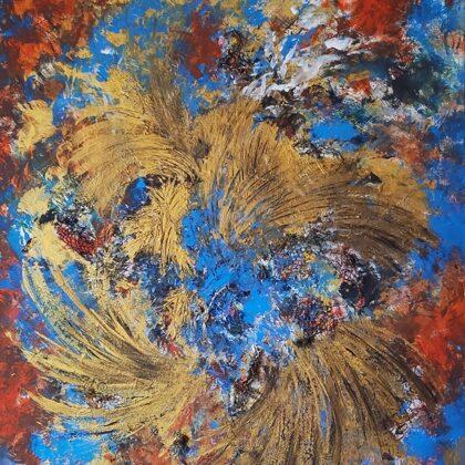 VENETIAN BAROQUE - Acryl on canvas - 80x100