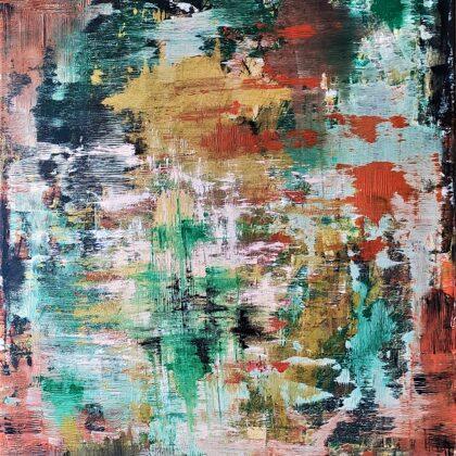 STREAMING - Acryl on canvas - 80x100