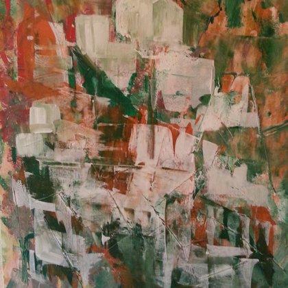 WHITE TOWN - Acryl on canvas - 80x100